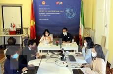 Diễn đàn trực tuyến về hợp tác kinh tế Việt Nam-Italy