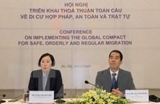 Triển khai Thỏa thuận toàn cầu về Di cư hợp pháp, an toàn và trật tự