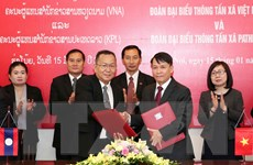 TTXVN-KPL: Trưởng thành trong dòng chảy lịch sử hữu nghị Việt-Lào