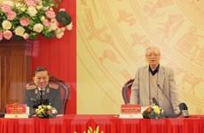 Tổng Bí thư, Chủ tịch nước: Xây dựng người Công an trong sạch