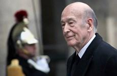 Điện chia buồn cựu Tổng thống Pháp Valéry Giscard d'Estaing qua đời