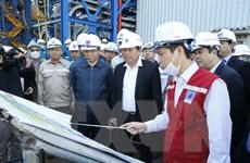 Phó Thủ tướng kiểm tra tiến độ Nhà máy Nhiệt điện Thái Bình 2
