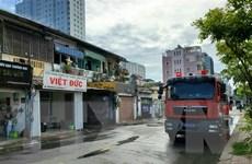 TP.HCM: Cháy lớn tại chung cư cũ, 2 người may mắn thoát nạn
