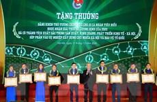 56 nhà nông trẻ xuất sắc nhận Giải thưởng Lương Định Của lần thứ XV