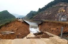 Yêu cầu khắc phục nhanh sự cố vỡ kênh Bắc sông Chu-Nam sông Mã