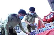 Tây Ninh tiêu hủy gần 950.000 bao thuốc lá ngoại nhập lậu