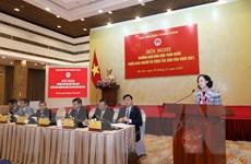 Hội nghị Trưởng Ban Dân vận toàn quốc triển khai nhiệm vụ công tác