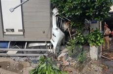 Lâm Đồng: Xe tải mất phanh gây tai nạn liên hoàn, hai người thiệt mạng