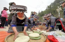 Sôi nổi Lễ hội giã bánh dày ở vùng cao Mù Cang Chải