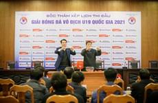 28 đội tham dự vòng loại Giải bóng đá Vô địch U19 nam quốc gia 2021