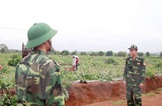 Bộ đội Biên phòng TP.HCM hỗ trợ phòng, chống COVID-19 tại biên giới