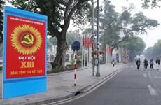 Hà Nội thực diễn phương án dẫn đoàn phục vụ Đại hội Đảng