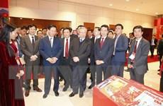 Hình ảnh lễ khai trương Trung tâm Báo chí phục vụ Đại hội Đảng XIII