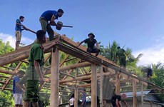 Thanh Hóa nỗ lực đưa người dân đến nơi ở an toàn sau thiên tai