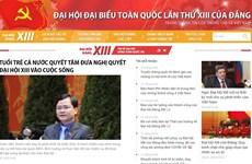 Phóng viên nước ngoài chia sẻ việc đưa tin trực tuyến về Đại hội Đảng