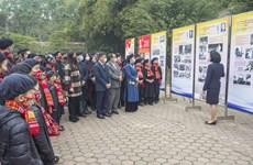 """Thái Nguyên: Triển lãm """"Đảng Cộng sản Việt Nam qua các kỳ Đại hội"""""""