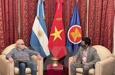 Thúc đẩy quan hệ chính trị tốt đẹp Việt Nam-Argentina