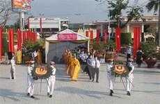 Lễ cầu siêu tri ân các Anh hùng Liệt sỹ tại Long An
