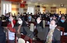 Hướng dẫn về hội nghị giới thiệu người ứng cử đại biểu HĐND cấp xã
