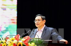 Ông Phạm Minh Chính thăm đối tượng chính sách, công nhân tại Sơn La