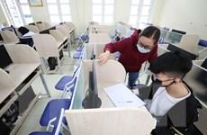 Nhiều địa phương xem xét cho học sinh quay lại trường học tập trung