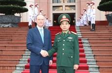 Tổng Tham mưu trưởng tiếp Thư ký Hội đồng An ninh Quốc gia Nga