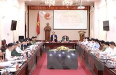 Kiểm tra công tác chuẩn bị bầu cử Quốc hội và HĐND tại Ninh Bình