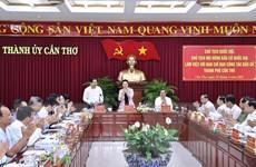 Chủ tịch Quốc hội làm việc với Ban Chỉ đạo công tác bầu cử TP Cần Thơ