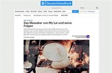 Nhà sử học Đức: Vụ thảm sát Mỹ Lai là tội ác chiến tranh khủng khiếp