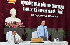 Bầu Phó Chủ tịch UBND tỉnh và Phó Chủ tịch HĐND tỉnh Bình Thuận