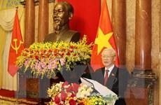 Hình ảnh lễ bàn giao công việc của Chủ tịch nước