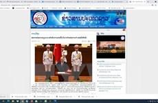Báo Lào đánh giá việc Quốc hội Việt Nam kiện toàn chức danh lãnh đạo