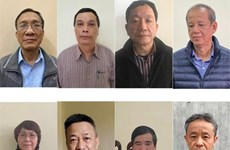 Xét xử vụ án Gang thép Thái Nguyên: 19 bị cáo ra hầu tòa