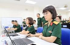 Khóa Huấn luyện sỹ quan LHQ đầu tiên kết hợp trực tiếp và trực tuyến