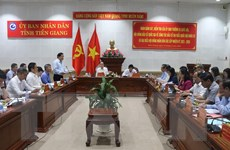 Bầu cử QH và HĐND: Kiểm tra công tác bầu cử tại Tiền Giang