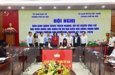 Hà Nội hoàn thành lấy ý kiến cử tri nơi cư trú với người ứng cử