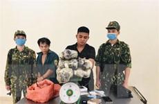Thanh Hóa: Bắt quả tang 2 đối tượng vận chuyển trái phép ma túy