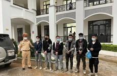 Phát hiện 6 người nhập cảnh trái phép trên cao tốc Bắc Giang-Lạng Sơn