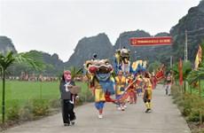 Gìn giữ nét độc đáo lễ hội Đền Thái Vi tưởng nhớ các vua Trần