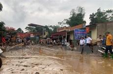 Lào Cai: Cảnh báo nguy cơ xảy ra lũ quét, sạt lở đất đá bất ngờ