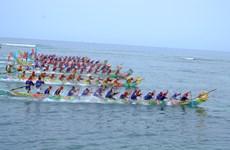 Lễ hội đua thuyền Tứ Linh là Di sản văn hóa phi vật thể Quốc gia