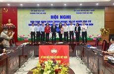 Hà Nội công bố danh sách chính thức 160 người ứng cử đại biểu HĐND