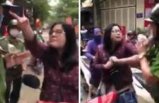 Hà Nội: Người phụ nữ tự xưng là công an, chống người thi hành công vụ