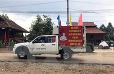Kon Tum tuyên truyền bầu cử đến cộng đồng dân tộc thiểu số vùng biên