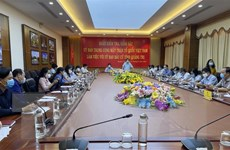 Kiểm tra, giám sát công tác bầu cử tại hai tỉnh Ninh Bình và Quảng Trị