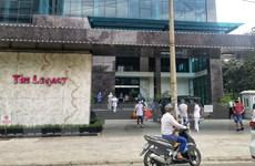 Hình ảnh Hà Nội phong tỏa tạm thời chung cư Legacy ở Thanh Xuân