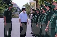 Thủ tướng kiểm tra công tác chống COVID-19 tuyến biên giới Tây Nam