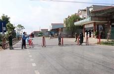 Bắc Ninh thiết lập vùng cách ly y tế đối với 2 khu vực từ chiều 14/5
