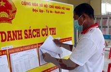 Khẩn trương hoàn tất công tác chuẩn bị bầu cử tại các địa phương