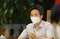 Phó Thủ tướng Vũ Đức Đam chủ trì họp với Bộ Y tế và tỉnh Bắc Giang